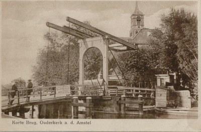 Korte Brug, Ouderkerk 1920